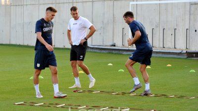 FOTO Igrači Rijeke odradili posljednji trening pred europsku premijeru – Večeras na Rujevicu stiže Aberdeen