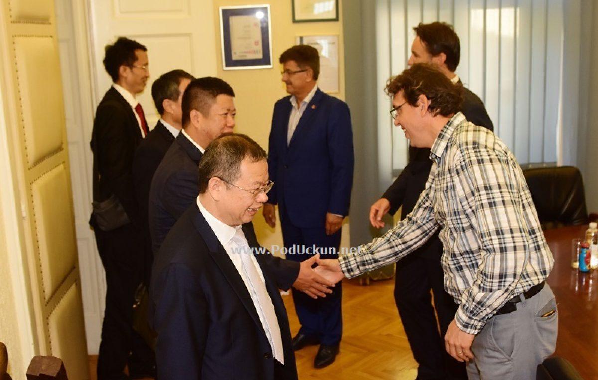 U OKU KAMERE Održano primanje za izaslanstvo Shenzhena