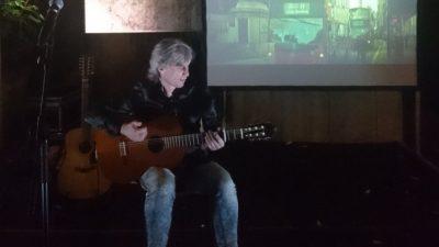 VIDEO Večer dobrih vibracija u Ljubljani – Damir Halilić Hal predstavio 'Moć gitare' u Celica ex prison art hostelu