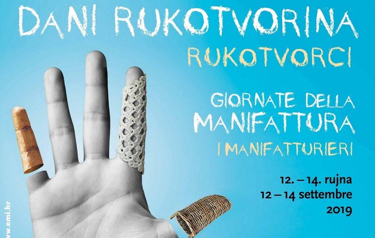 Sutra počinje trodnevna stručno-edukativna manifestacija 'Dani rukotvorina – rukotvorci'