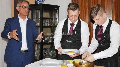 FOTO Ministar turizma Gari Cappelli povodom Svjetskog dana turizma posjetio Ugostiteljsku školu u Opatiji