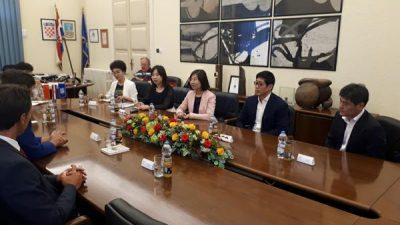 Održano primanje za izaslanstvo kineskih gospodarstvenika