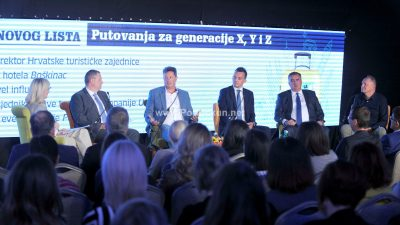 U OKU KAMERE Konferencija Novog lista u Hotelu Milenij – Putovanja za generacije X,Y i Z @ Opatija