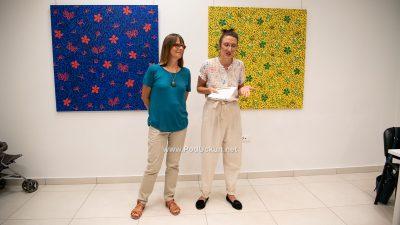FOTO U Galerijici otvorena izložba 'Livade' Miljenke Šepić @ Matulji