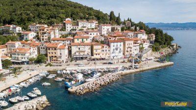 Prigodnom svečanošću obilježen početak radova na dogradnji obale i izgradnji obalne šetnice @ Mošćenička Draga
