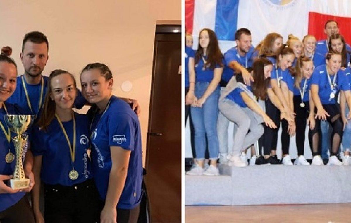 Sara Budimir, Nika Perić, Ema Mihalić i Luana Zdrinšćak iz selekcije PGŽ-a osvojile zlato @ Bihać