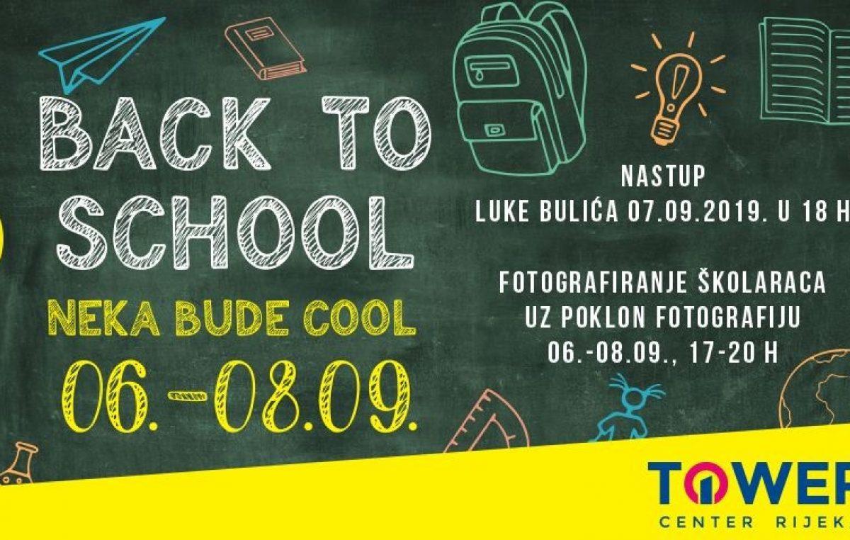 Back to School neka bude cool! Akcije, popusti, besplatno fotografiranje školaraca i Luka Bulić za dobar start školske godine