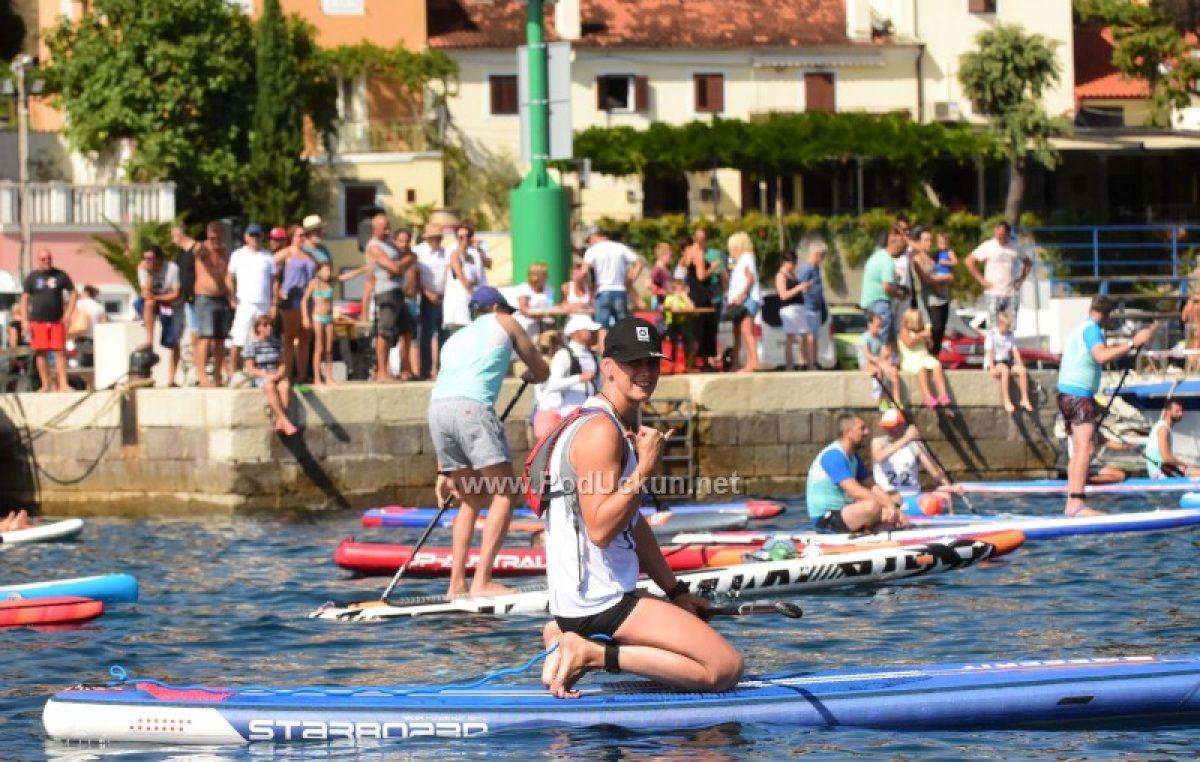 Atraktivno SUP natjecanje oduševilo gledatelje i natjecatelje @ Volosko