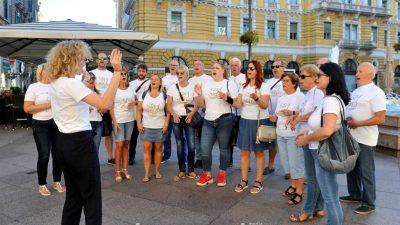 FOTO/VIDEO Svi u zbor! MPZ Štorija Rukavac i ŽZ KUD-a Učka Matulji oduševili Riječane