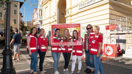 FOTO Prigodnom akcijom i edukacijom o tuberkulozi obilježen Svjetski dan prve pomoći i Tjedan borbe protiv tuberkuloze
