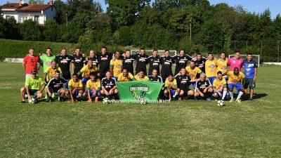 FOTO/VIDEO Veterani NK Opatija i brazilski tim evanđeoskih veterana 'UCE Brazil' odigrali prijateljski susret