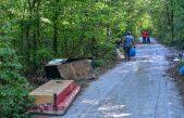 Zelena čistka u Kastvu – Dvadesetak volontera čistilo šumu na granici s općinom Viškovo