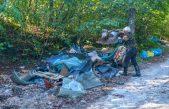 FOTO Zelena čistka u Kastvu – Dvadesetak volontera čistilo šumu na granici s općinom Viškovo