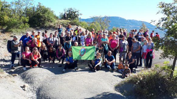 Održano tradicionalno pješačenje u Borutu – Devedesetak planinara uživalo u čarima Središnje Istre