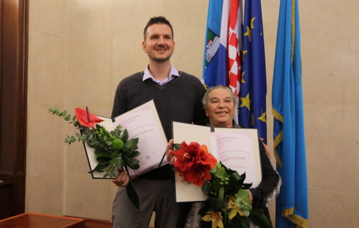 Mariji Trinajstić i Branimiru Dropuljiću uručene Književne nagrade Drago Gervais @ Rijeka