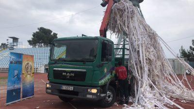 VIDEO Stotine kilograma papira iskorištenog u Armadinoj koreografiji reciklirano uz pomoć tvrtke Metis