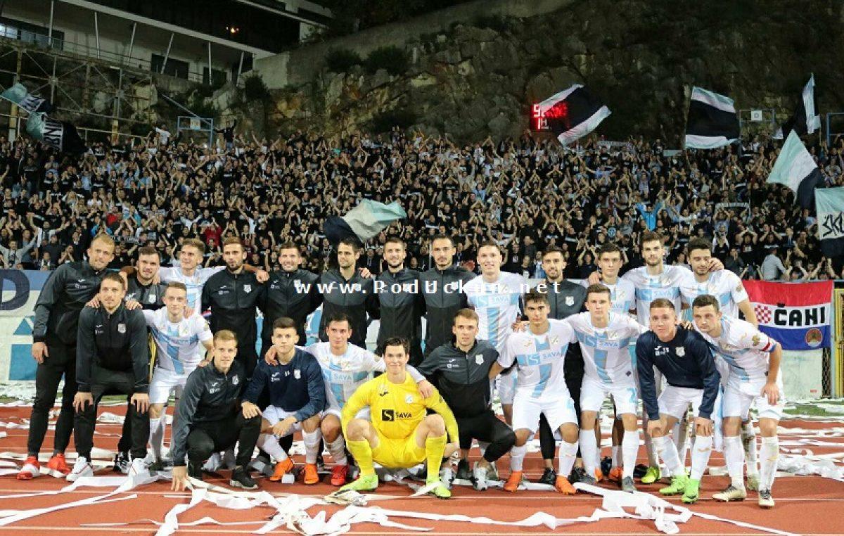 FOTO/VIDEO Drugi Povratak na Kantridu obilježen remijem protiv Zrinjskog i odličnim navijanjem