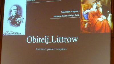 Ervin Dubrović održao predavanje 'Leontine Littrow – slikarica svjetla' @ Opatija