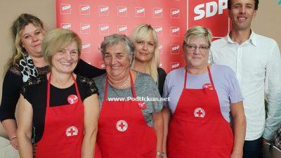 U OKU KAMERE Članice SDP-a Opatija spravile donatorski ručak za korisnike kuhinje Crvenog križa