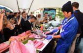 FOTO/VIDEO Tuna cutting i Sushi Masterclass na sajmu HoReCa Adria obilježio veliki interes posjetitelja
