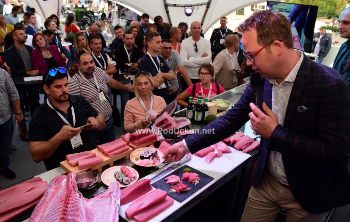 Tuna cutting i Sushi Masterclass na sajmu HoReCa Adria obilježio veliki interes posjetitelja