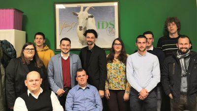 Osnovana podružnica Kluba mladih IDS-a u Pazinu, za predsjednika izabran Mario Ivanković
