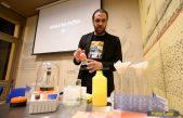 FOTO Gjino Šutić vološćanskoj publici predstavio biohakiranje