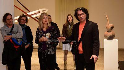 FOTO/VIDEO Glina i tavaloni u fokusu izložbe skulptura i instalacija Mladena Ivančića @ Lovran