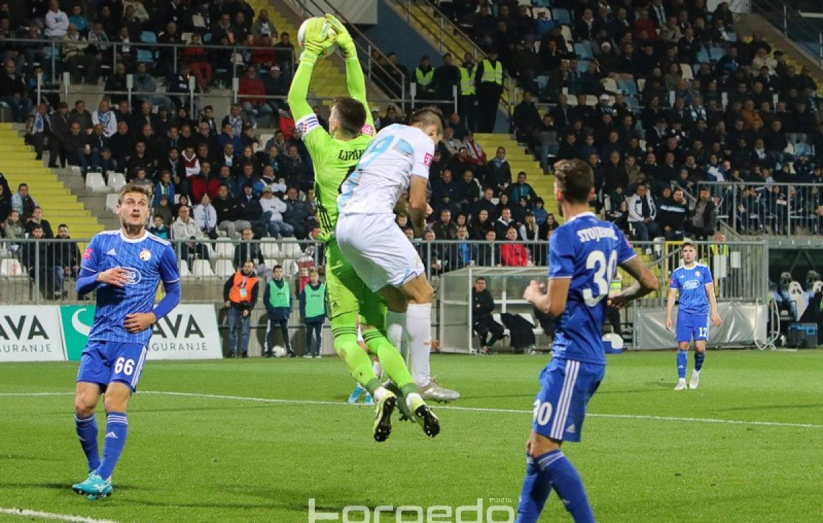 Rijeka poražena u Zagrebu: Dinamo ranim pogotkom i 'kanonadom' u završnici svladao 'bijele'