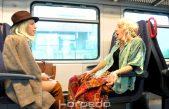 FOTO/VIDEO Komedija o vlaku predstavljena u vlaku od Rijeke do Matulja: Svaka izvedba predstave 'HŽ i mi' kasnit će barem 15 minuta!