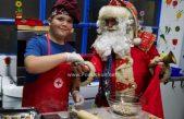 VIDEO Dnevni boravak u Adventskom ruhu – Veselo druženje mališanima uveličao Djed Božićnjak