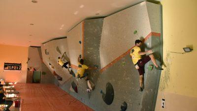 Ročka umjetna stijena bila je domaćinom i natjecanja za seniore
