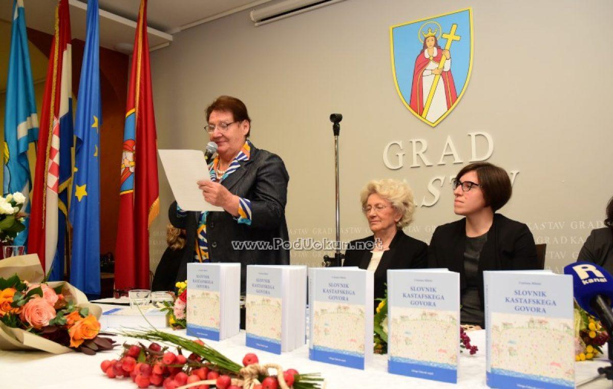 FOTO/VIDEO Monumentalno djelo Cvjetane Miletić – Slovnik kastafskega govora predstavljen javnosti