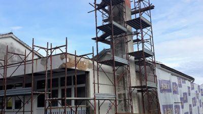 FOTO Napreduju radovi na pročelju i krovištu objekta područne škole i dječjeg vrtića u Rukavcu
