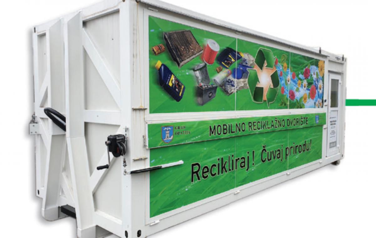 U dva navrata mobilno reciklažno dvorište na meti lopova