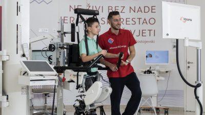 Uz pomoć robotske neurorehabilitacije napravili svoje nove samostalne korake