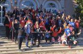 FOTO/VIDEO Sportska razglednica Adventa: Mario Mlinarić poveo više od 150 vježbača u blagdanski trening