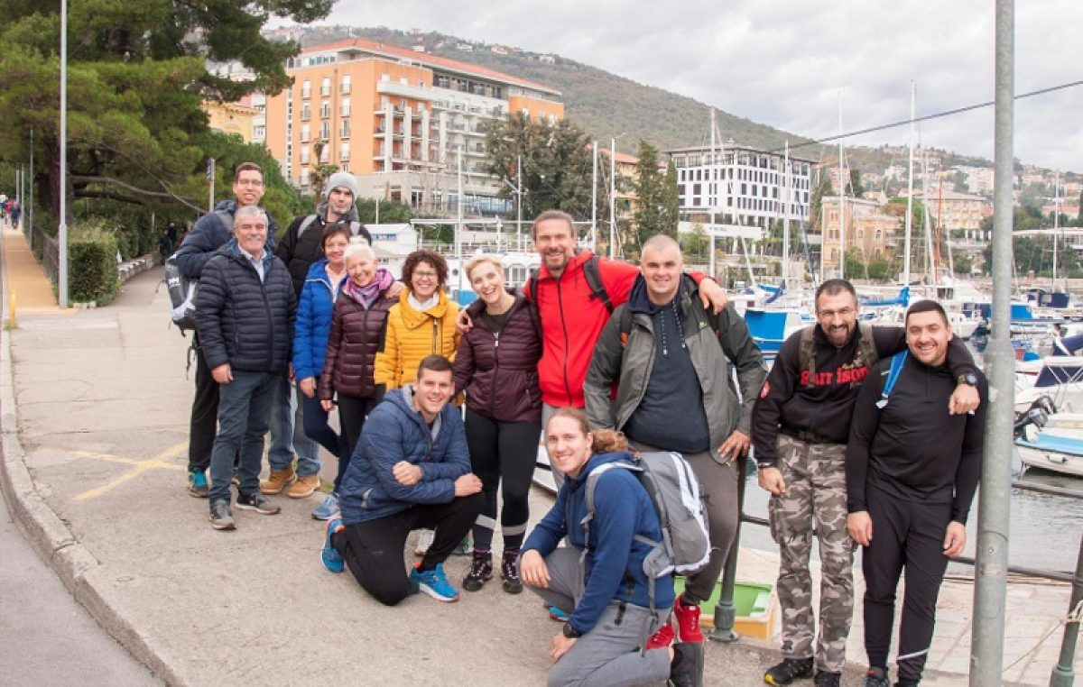 FOTO Mario Mlinarić i Amadria Park prvi pokrenuli projekt aktivnog odmora u Opatiji
