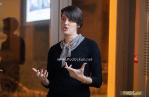 FOTO Ana Juračić održala predavanje Lov na uragane @ Volosko