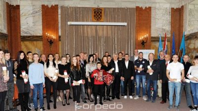 FOTO Održan prijem za najuspješnije sportaše i klubove Primorsko-goranske županije u protekloj godini