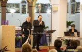 FOTO/VIDEO Olga i Bojan Šober s najljepšim blagdanskim pjesmama ispunili crkvu Sv. Jakova