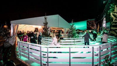 FOTO/VIDEO Otvorena 'Ledena čarolija' – Klizalište i bogata ugostiteljska ponuda ispunila Ljetnu pozornicu @ Opatija