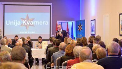 FOTO Marko Boras Mandić novi predsjednik Unije Kvarnera: Želimo sudjelovati u stvaranju politika na svim razinama @ Rijeka