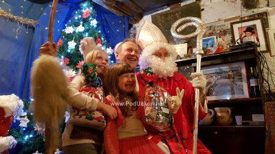 U OKU KAMERE Frlanija 'privukla' zaštitnika djece: Mikula i darovi dočekali mališane u Matiškovoj konobe