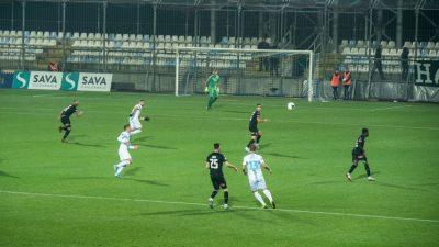 Pred brojnim navijačima na Rujevici je pokleknula Istra