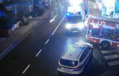Zbog požara u trgovini Tisak media kroz Opatiju se vozi otežano