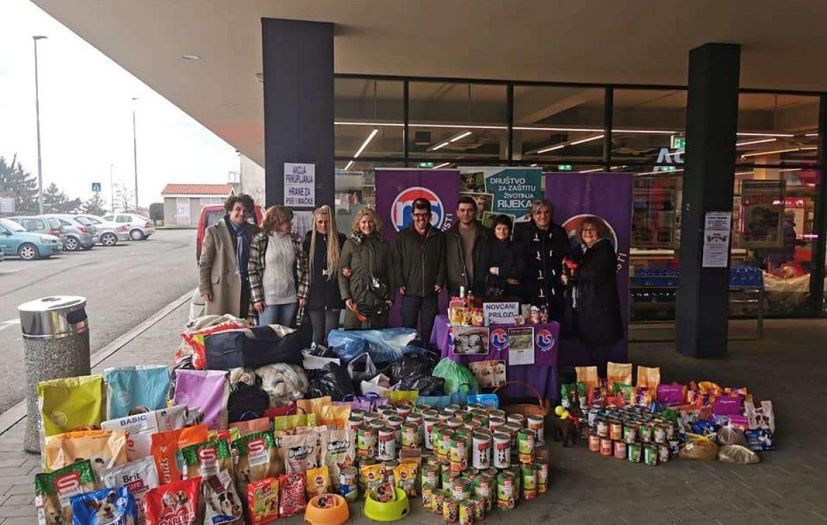 Kastavski reformisti u akciji prikupljanja hrane za pse i mačke