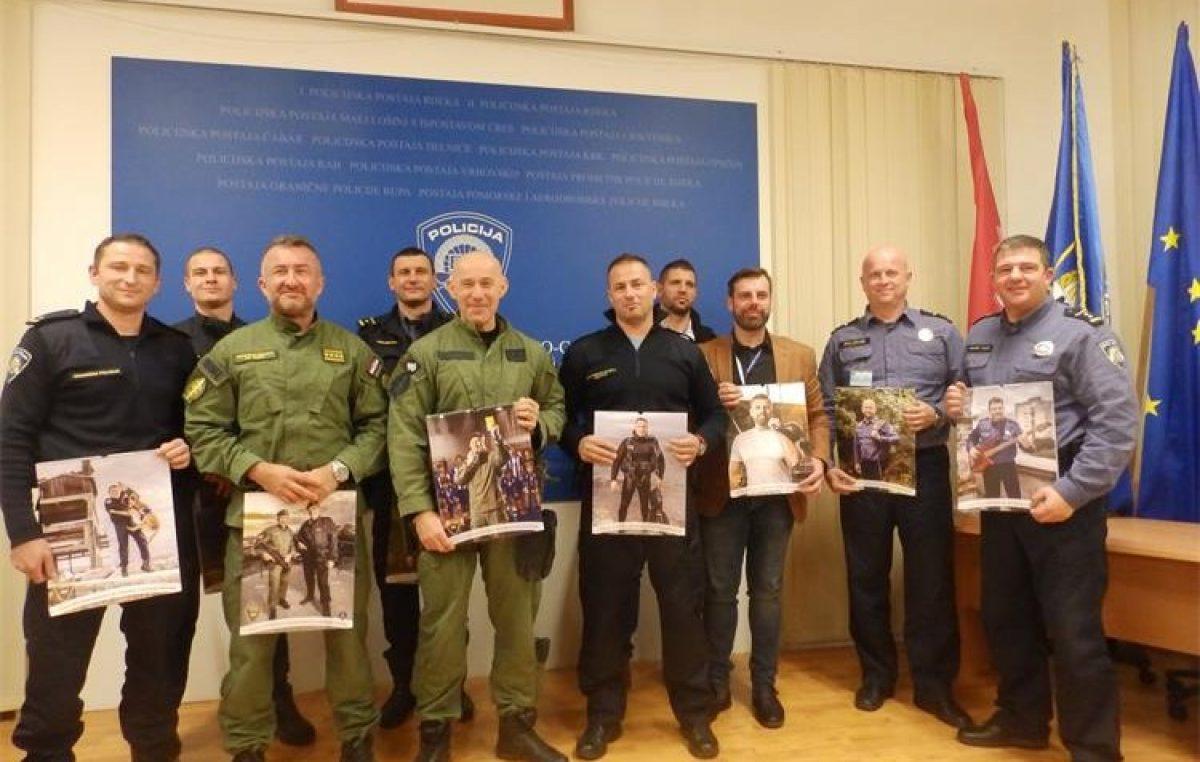"""U OKU KAMERE Predstavljan humanitarni kalendar """"Policajci-Riječki dečki 2020"""" @ Rijeka"""