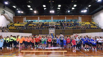 FOTO Pedesetak ekipa na Božićnom turniru u mini rukometu