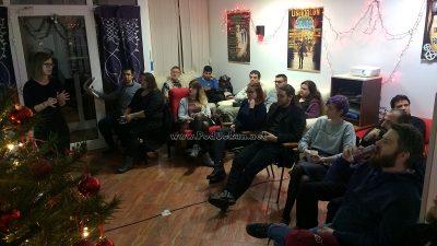 FOTO Veliki interes za posljednju ovogodišnju debatu – Tamara Crnko održala predavanje 'Globalno siromaštvo i pravo na migracije'